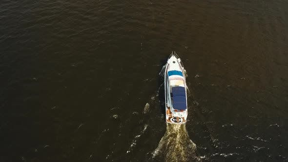 Thumbnail for Speed Boat on the River.