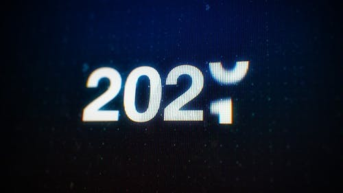 Year Changing 2020 To 2021