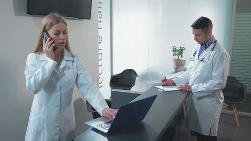 Staff in Clinic