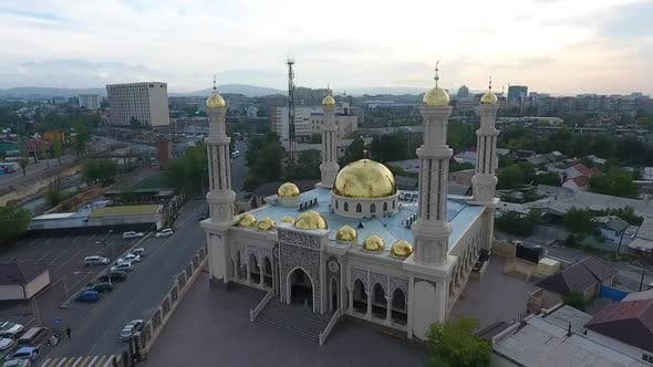 Thumbnail for Gold Mosque Aerial
