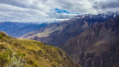 Peruvian Mountains Time Lapse