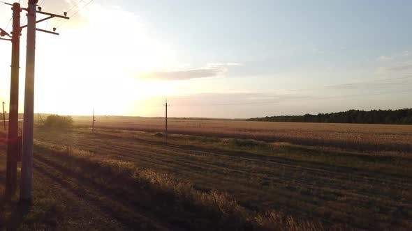 Sunset in the Countryside 3