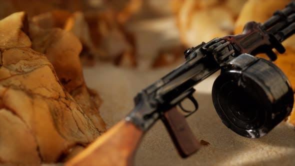 Thumbnail for Machine Gun at the Sand