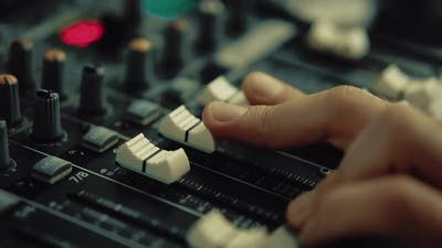DJ Works on the DJ Console 2