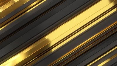 Golden Lines Background