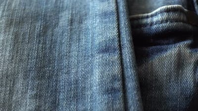Rotating Fabric Jeans