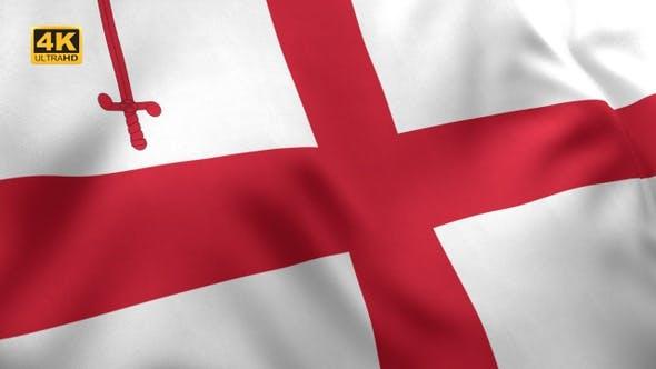 Thumbnail for London City Flag - 4K