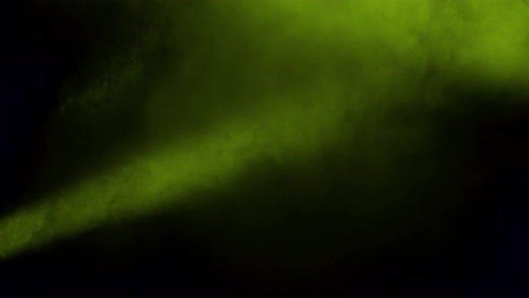 Brouillard jaune