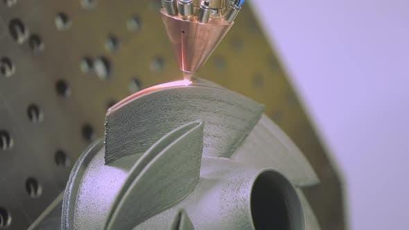 Thumbnail for CNC Gas Dynamisches Kaltspritzen oder Kaltspritzen