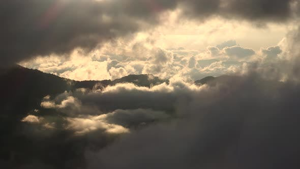 Thumbnail for Cloud Layers in Forested Mountains in the Morning