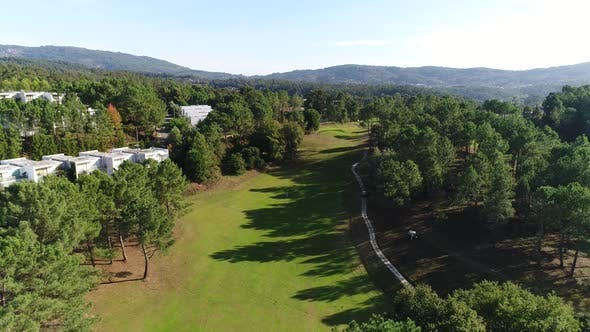 Thumbnail for Aerial View of Golf Course