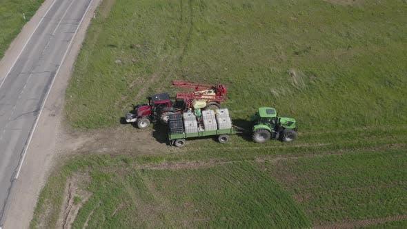 Thumbnail for Tractor Fertilizer Spreader Refill Procedure