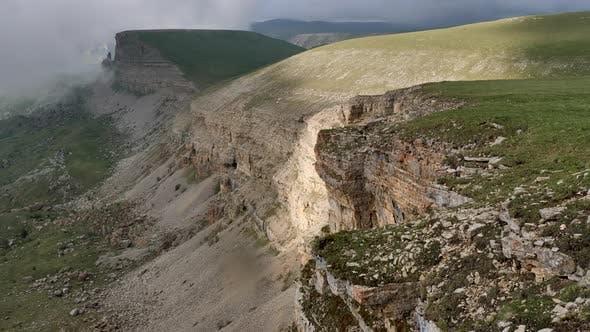 Bermamyt plateau in the Caucasus.