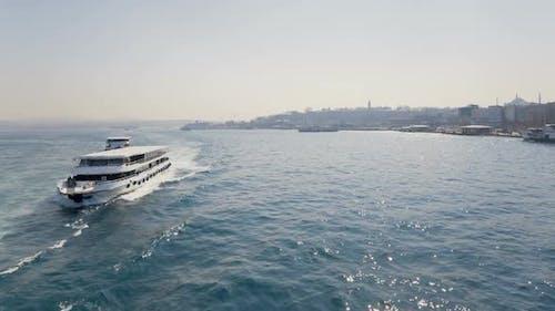 Ferries at Golden Horn