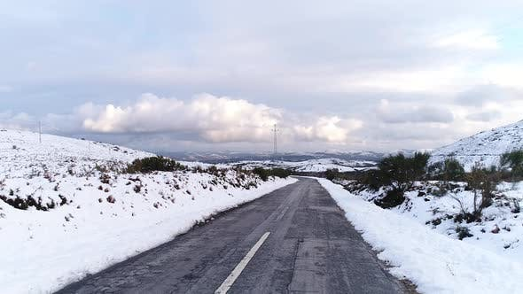 Thumbnail for Winter Road in the Mountains