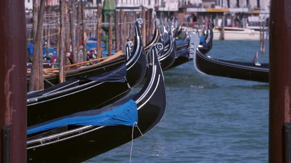 Thumbnail for Mooring For Gondolas in Venice, Italy