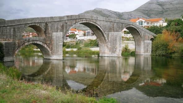 Thumbnail for Old Historical Landmark Bridge in Trebinje Bosnia