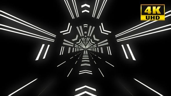 Cover Image for 7 Abstract Tunnels Vj Loop Pack 4k