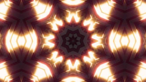 Neon Light Glow Kaleidoscope V1