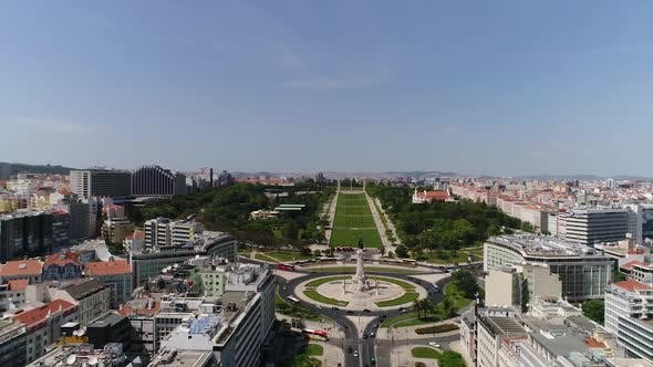 Thumbnail for Marquês de Pombal Square, Lisbon, Portugal