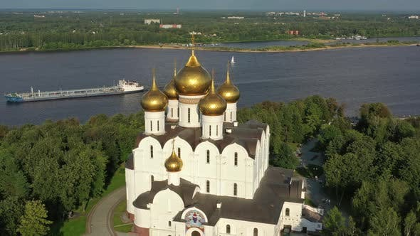 Cover Image for Assumption Cathedral in Yaroslavl Russia