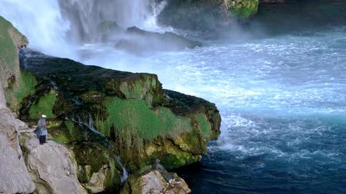 Waterfall In Wild Nature 81