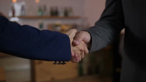 Firm Handshake Standing for Trusted Partnership