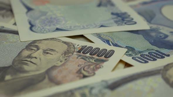 Money Banknotes Yen