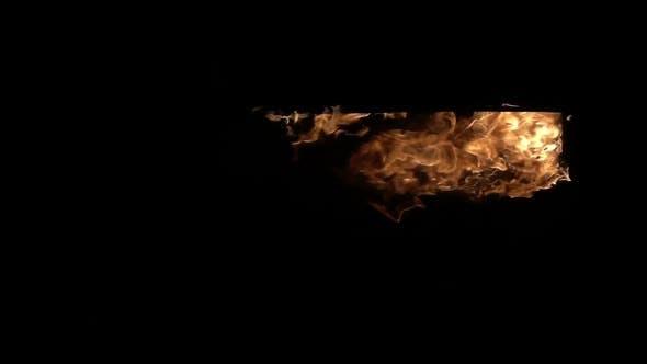 Burning Doorway