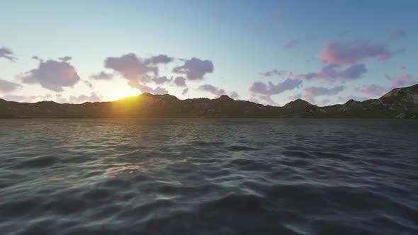 Thumbnail for Sunset Ocean Landscape