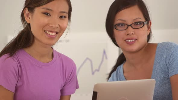 Thumbnail for Cute Chinese businesswomen