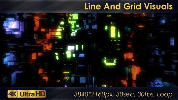 Thumbnail for Line And Grid Visuals