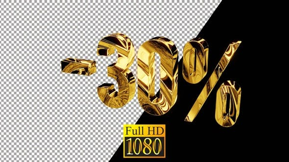 30 Gold Discount Pro Res HD