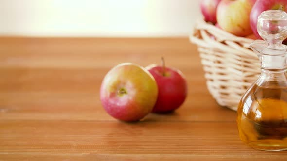 Thumbnail for Apples in Basket and Jug of Juice or Vinegar 34