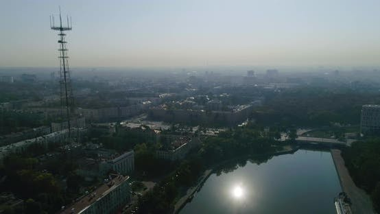 Thumbnail for Summer Morning in Minsk City Center