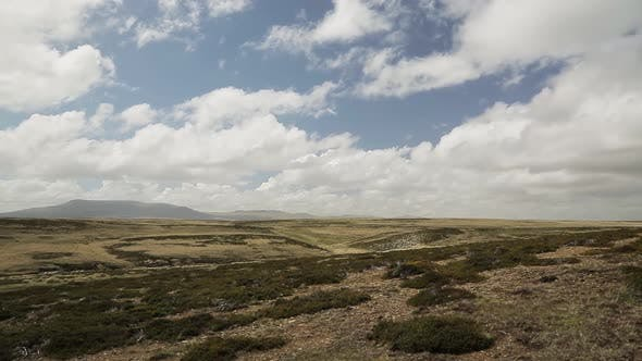 Thumbnail for Typical landscape, East Falklands, Falkland Islands, South Atlantic.
