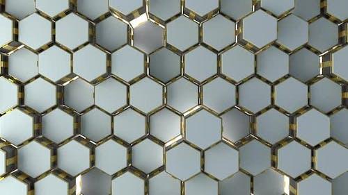 Futuristic Hexagon Background