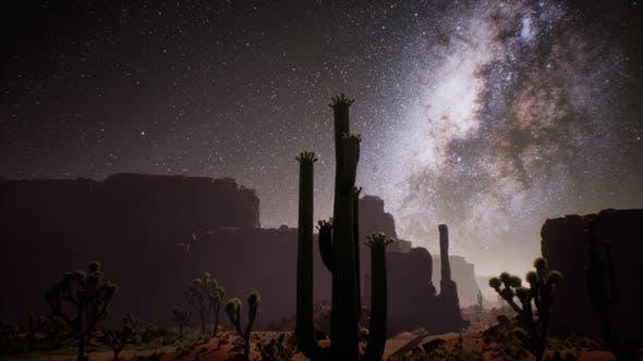 Thumbnail for The Milky Way Above the Utah Desert, USA
