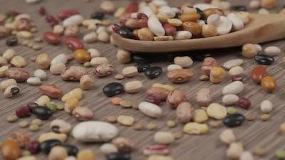 Mixed Beans Legume, Vegan Vegetarian Mediterranean Diet