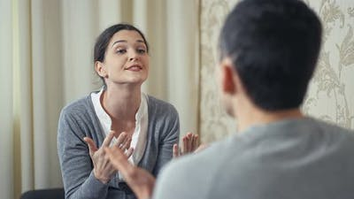 Quarrel Between Husband and Wife