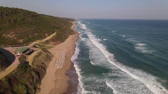 Coastline Beach Ocean Waves