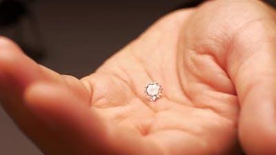 Diamond in Hand