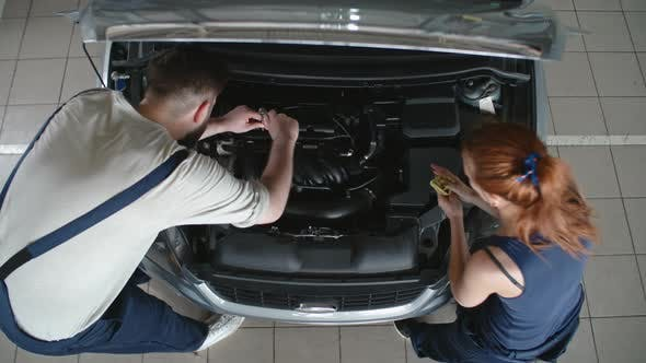 Thumbnail for Car Mechanics Teamwork