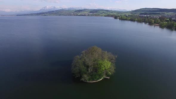 Thumbnail for Lake Island Resort Landscape