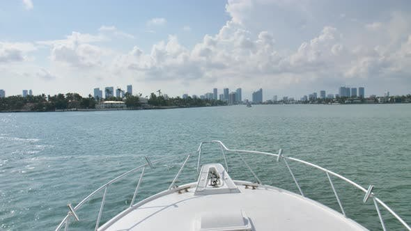 Thumbnail for Yachting Pov In Miami Biscayne Bay