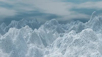 Fly Over Snow Mountains