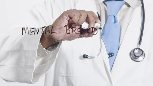Asian Doctor Writes Mental Breakdown
