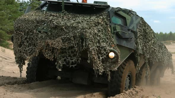 Thumbnail for Camouflage Military Vehicle
