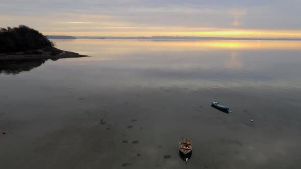 Thumbnail for Reflections of Couds on the Clear Sea in Denmark