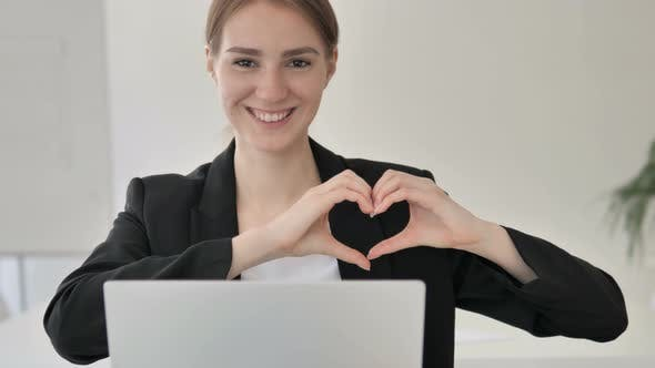 Cover Image for Handmade Heart by Young Businesswoman